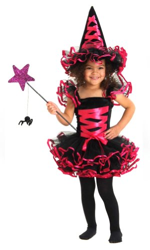 Ballerina Witch with Hat Black / Fuschia - 18M-2T