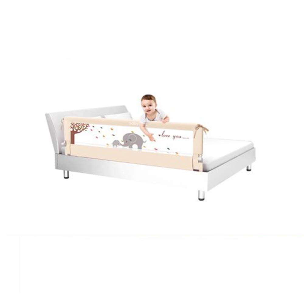 ベビーアップグレードベッドレールチャイルドベッドガードレール赤ちゃん粉砕耐性ベッドサイドバッフルサポート垂直リフトユニバーサル2メートル (78 インチ)   B07L6JV9D3