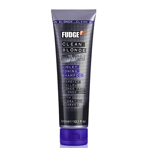 Fudge Clean Blonde Violet Toning Shampoo for Unisex, 0.15 Pound