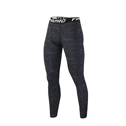 レーニン主義服を片付けるメロドラマティックスポーツ コンプレッション タイツ メンズ レギンス ロング アンダー ウェア 加圧 通気 + 吸汗 速乾