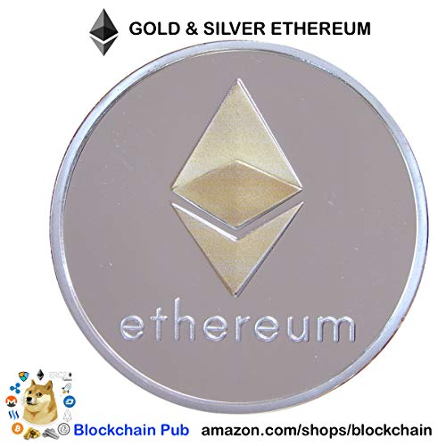 2019 ETHEREUM - Blockchain Commemorative Cryptocurrency - Bitcoin Ethereum Ripple EOS Stellar Litecoin Cryptocurrencies Blockchain Bitcoin Ethereum Blockchain Litecoin EOS Bitcoin Blockchain (Novelty Commemorative)