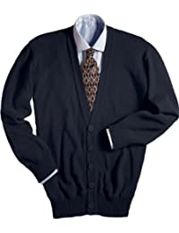 ED Garments Men's Heavy Duty V-Neck Cardigan