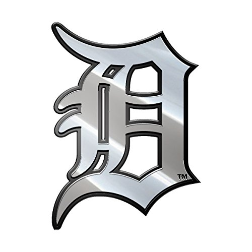 Detroit Tigers Metal - MLB Detroit Tigers Metal Emblem, One Size, One Color