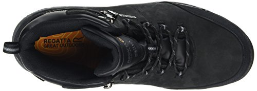 Regatta de Homme Asheland Black Chaussures Noir Randonnée Hautes pwCprqF