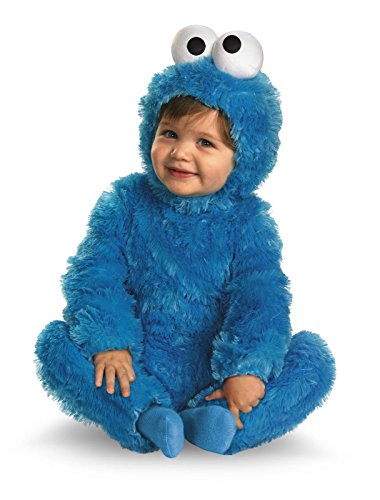 Sesame Street Cookie Monster Comfy Toddler Costume-(3T-4T) ()