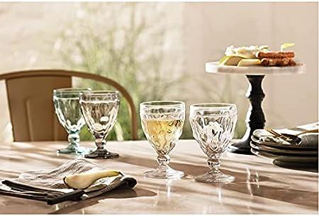 LEONARDO HOME 21593 Brindisi - Juego de 6 copas de vino (24 cl), color blanco