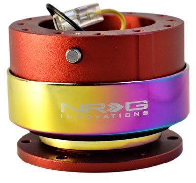 NRG Steering Wheel Quick Release Gen 2.0  Neochrome