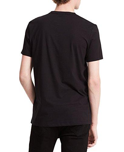 Calvin-Klein-Mens-Short-Sleeve-Hologram-Print-V-Neck-T-Shirt