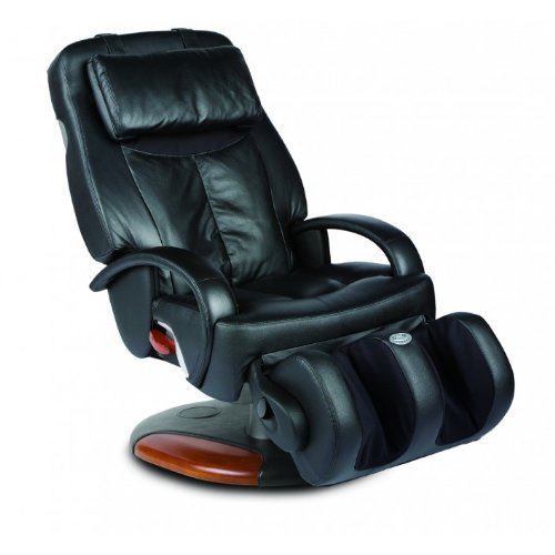 Human Touch HT-275 Swivel-Based ThermoStretch Massage Chair, Black Color Option