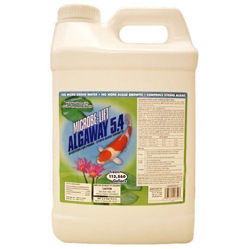 Microbe-Lift Algaway 5.4 Pond Algae Control 2.5 Gallon by Microbe-Lift Algaway 5.4 Control