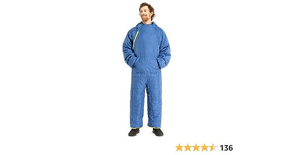 Blue Evening Selkbag Unisexs Lite 6G Wearable Sleeping Bag
