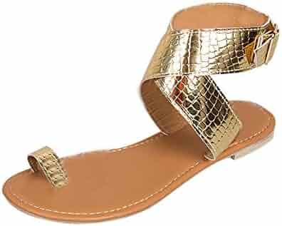 005108ef409 Faber3 Hot Sale Sandals for Women-Strappy Sandals Gladiator Sandals Shoes  Flip Flops Beach Shoes