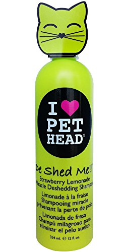 Pet Head De Shed Me!! Deshedding Shampoo for Cats 12oz