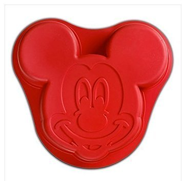 Disney Parks Exclusive Mickey Mouse Icon Silicone Cake Mold -