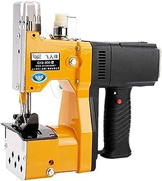 HYDD Máquina de Coser de Mano,pequeña Bolsa de Coser eléctrica portátil/Bolsa/Bolsa Tejida/Bolsa de arroz de Serpiente,sellada y empacada
