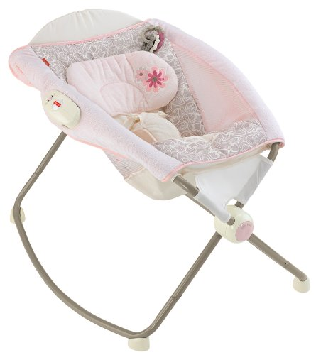 Fisher-Price Deluxe Newborn Rock 'n Play Sleeper, My Little Sweetie