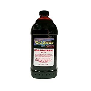 Cool Breeze Beverages Ready to Use Slush Mix, Strawberry Daiquiri, 1/2 Gallon
