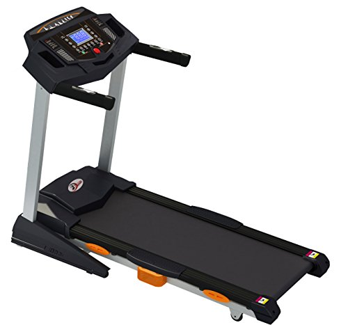 Durafit - Sturdy, Stable and Strong Heavy-Hike 2.5HP (Peak 5.0 HP) Motorized Foldable Treadmill with Auto-Incline