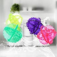 HaRvic Washing Machine Cleaning Hair Removal Stains Clothes Washing Ball Multi Color