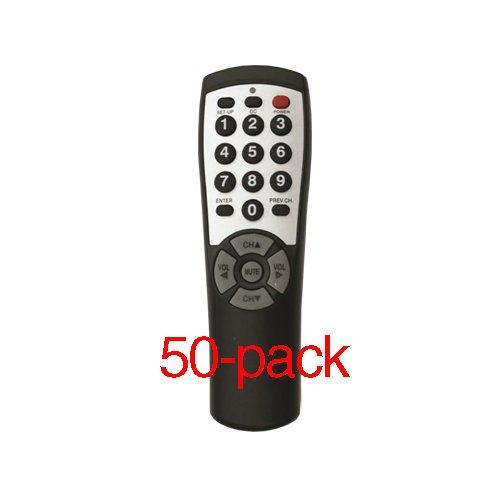 50-pack Brightstar® BR100B Universal TV Remote by Brightstar®
