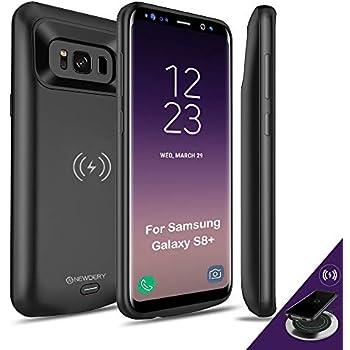 official photos f9a94 e0aee Amazon.com: Galaxy S8 Plus Battery Case, PunkJuice 5000mAH Fast ...