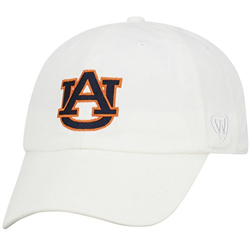 (Top of the World Auburn Tigers Men's Hat Icon, White, Adjustable)