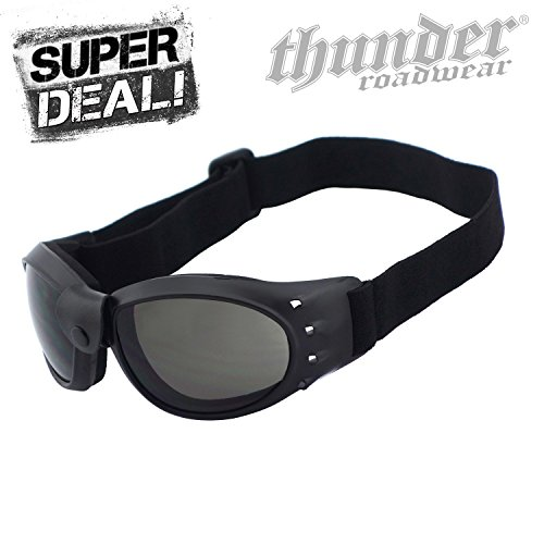 Thunder Roadwear CRUISER 2 Motorradbrille Biker Brille Super Deal