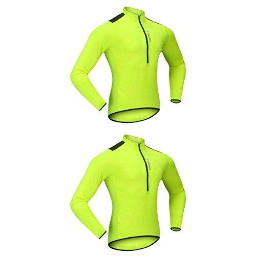 [해외] SunniMix 롱 슬리브 사이클링 (jersey)저지 오토바이 자전거 셔츠 사이클링 의류 톱 방풍성 잘