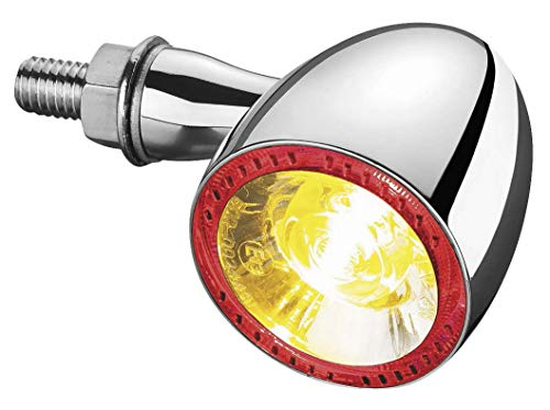 Kuryakyn 2554 Chrome Motorcycle Lighting ()