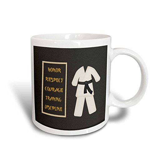 3dRose mug_180798_1 Karategi Discipline 11 Ounce