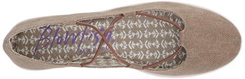 Blowfish Women's Gastby Ballet Flat, Pink Bronze