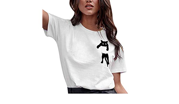 Camisas Mujer Sexy, Camiseta de Manga Larga de Lino con Cuello en ...