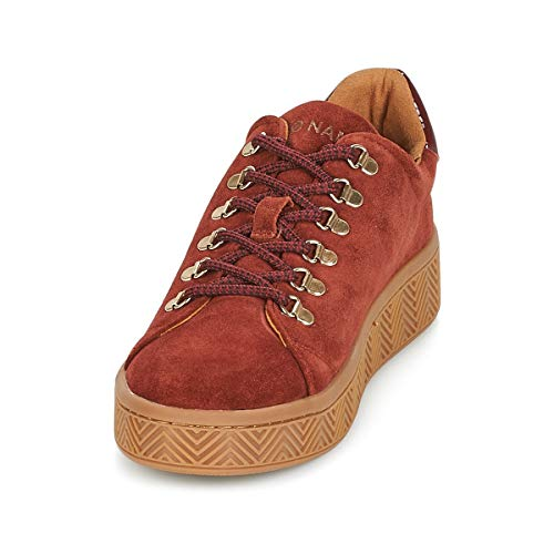 no Ginger Taupe Sneaker Ginger name Femme rawz6r5q