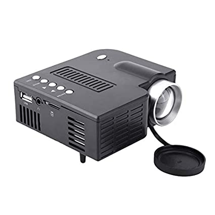 WEIWEITOE-ES UC28A Mini Portable LED Projector 1080P Multimedia ...