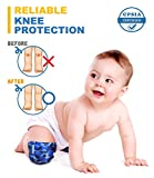 Baby Knee Pads for Crawling (2 Pairs) I Protector