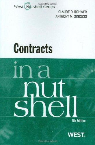 Contracts in a Nutshell (Nutshells)
