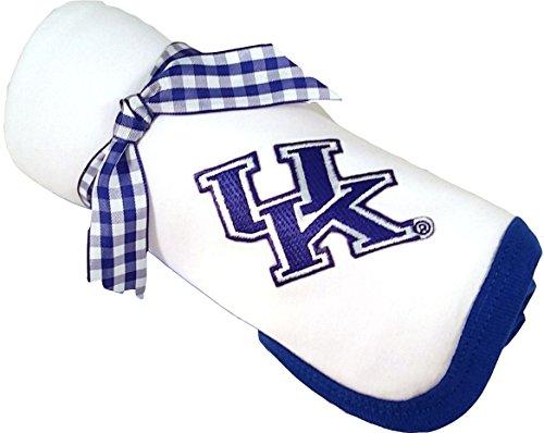 Kentucky Wildcats UK Baby Receiving Blanket