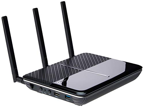 TP-Link AC2300 Smart WiFi Router - Long Range by RangeBoost, MU-MIMO, Wave 2 Tech, VPN Function, Dual Band, Gigabit, Works with Alexa, Integrated Anti-Virus & QoS(Archer C2300).