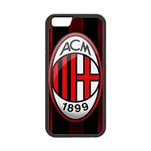 AC Milan iPhone 6 Plus 5.5 Inch Cell Phone Case Black Nhbei