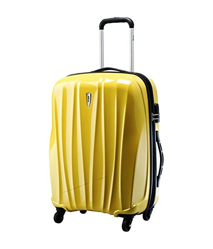 VIP Polycarbonate 66 cms Yellow Suitcase (VERNXT65GYL): Amazon.in ...
