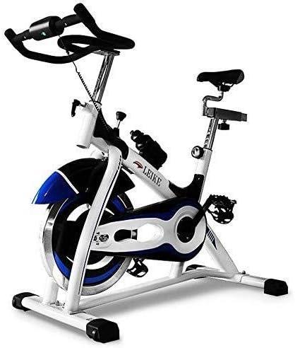 ZT-TTHG エアロバイク、スピンバイクサイクル文房具ワークアウト機器W/LCDディスプレイの抵抗調整が容易に移動