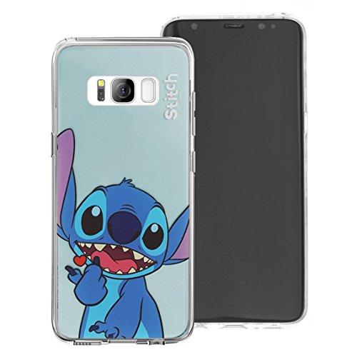 Galaxy S7Schutzhülle, Disney Cute Soft Jelly Cover für [Galaxy S7(13cm)] Fall Heart Daisy Duck (Galaxy S7) Color Stitch (Galaxy S7)