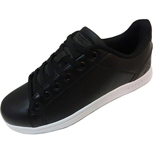 303LL90 White Black KAPPA LOGO GALTER BLACK UNISEX WHITE 2 ART fY14qgwY