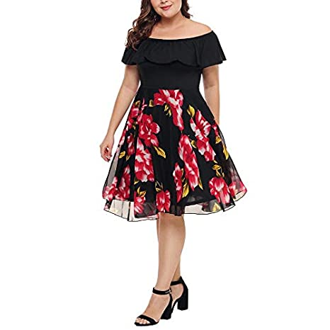 Vestidos Tallas Grandes Plus Size Cortos de Fiesta para ...
