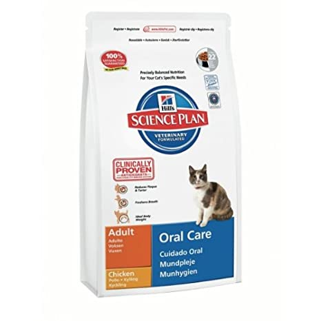 Hills Feline Adult Oral Care Comida para Gatos - 5000 gr