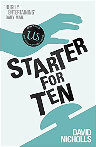 Image result for starter for ten book
