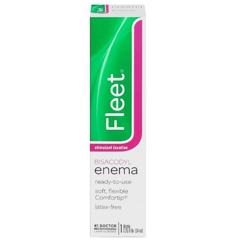 Fleet Bisacodyl Enema - Fleet Bisacodyl Enema, Ready To Use - 1.25 Oz (Pack of 6)