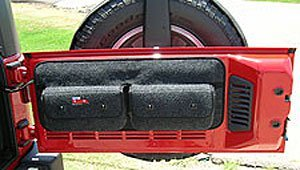 Covercraft Custom Pocket Pods; Trunk Storage Bag Model # TO1019CH Charcoal 3 CH (Storage Pods Trunk Pocket)