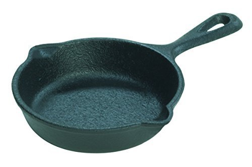Lodge LMS3 Miniature Skillet, 3.5-inch - Pack of 4 (Small Iron Pan compare prices)