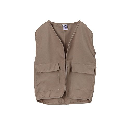 Making Believe Kids Unisex Polyester Khaki Safari Explorer Vest